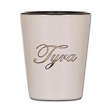 Gold Tyra Shot Glass