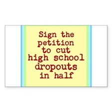 Dropouts Better Run Decal