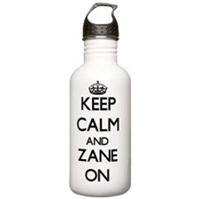 Keep Calm and Zane ON Water Bottle