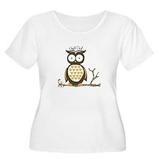 Night Owl Plus Size T-Shirt