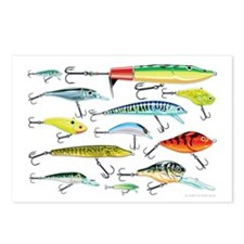Fishing Lures Postcards (package Of 8)