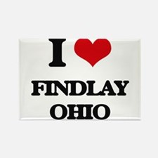 I love Findlay Ohio Magnets