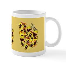 Yellow Pansies Mugs
