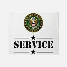 U.S. Army Service Throw Blanket