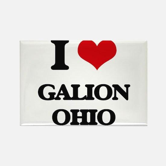 I love Galion Ohio Magnets