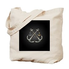 Shiny Anchors Tote Bag