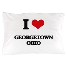 I love Georgetown Ohio Pillow Case