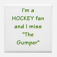 I miss Gump Worsley Tile Coaster