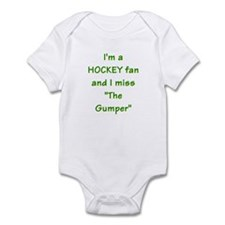 I miss Gump Worsley Infant Bodysuit