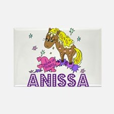 I Dream Of Ponies Anissa Rectangle Magnet
