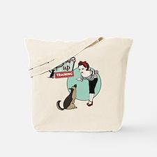 Pin Up Pup Tote Bag