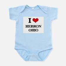 I love Hebron Ohio Body Suit