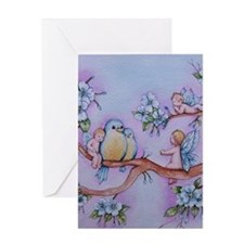 Blossom Fairies Greeting Cards