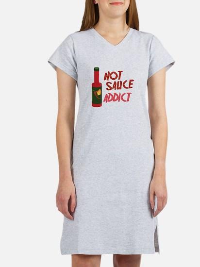 Hot Sauce Addict Women's Nightshirt