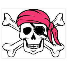 Pink Pirate Poster