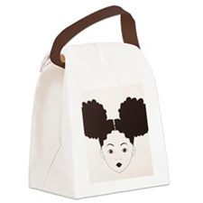 Girl's Canvas Lunch Bag