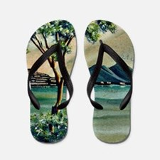 The Bay Of Naples Flip Flops