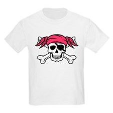 Pink Pigtail Pirate T-Shirt