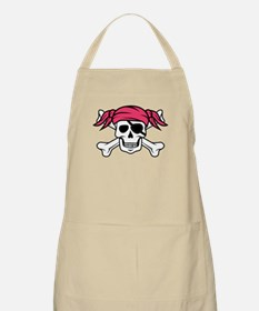 Pink Pigtail Pirate Apron