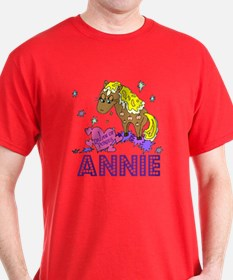 I Dream Of Ponies Annie T-Shirt