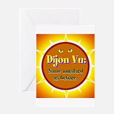 Dijon Vu, Dijon Vu Greeting Cards