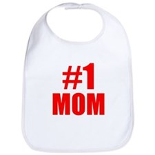 Number 1 Mom Bib