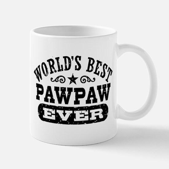 World's Best PawPaw Ever Mug