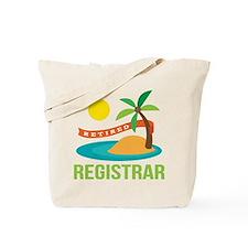 Retired Registrar Tote Bag
