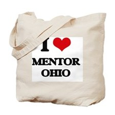 I love Mentor Ohio Tote Bag