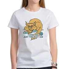 I Love You Funny Cat Graphic Tee