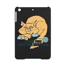 I Love You Funny Cat Graphic iPad Mini Case