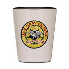 USS GRAY Shot Glass