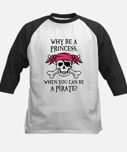 Pink Pirate Baseball Jersey