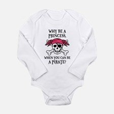 Pink Princess Pigtail Pirate Body Suit