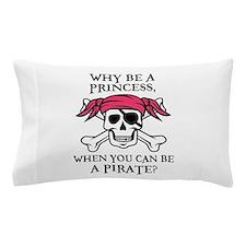 Pink Princess Pigtail Pirate Pillow Case