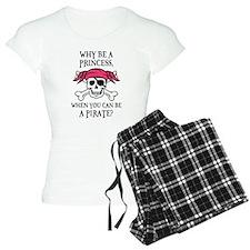 Pink Princess Pigtail Pirat Pajamas