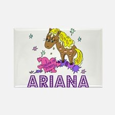 I Dream Of Ponies Ariana Rectangle Magnet