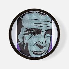 The Man in Purple Wall Clock