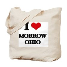 I love Morrow Ohio Tote Bag