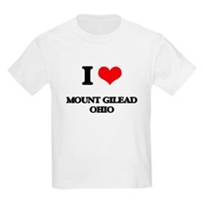 I love Mount Gilead Ohio T-Shirt