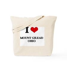 I love Mount Gilead Ohio Tote Bag