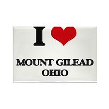 I love Mount Gilead Ohio Magnets