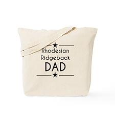 Rhodesian Ridgeback Dad Tote Bag