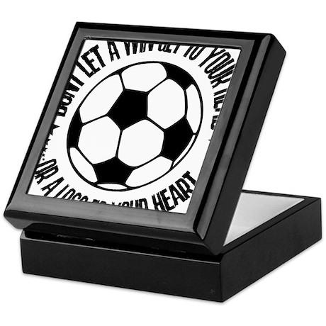 Soccer A Win Keepsake Box