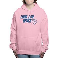 LONG LIVE SPOCK! Women's Hooded Sweatshirt