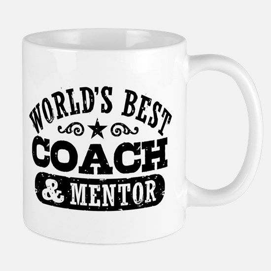 World's Best Coach & Mentor Mug