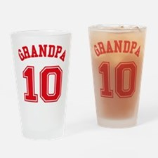 Grandpa's Uniform No. 10 Drinking Glass