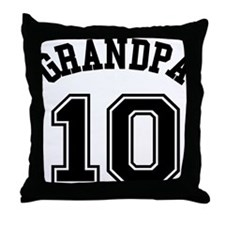 Grandpa's Uniform No. 10 Throw Pillow
