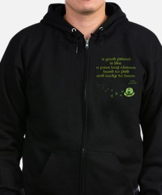 Four Leaf Clover Men's Zip Hoodie