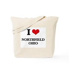 I love Northfield Ohio Tote Bag